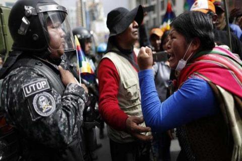 La restauración del dominio colonial mediante el golpe de la oligarquía servil