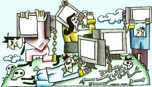 El papel de los Medios de Comunicación en la Alienación