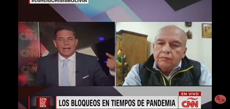 El triste semblante de Arturo Murillo frente a Fernando del Rincón