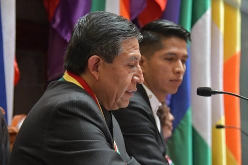 DISCURSO DEL VICEPRESIDENTE DEL ESTADO PLURINACIONAL DE BOLIVIA, DAVID CHOQUEHUANCA, EN EL ACTO DE TRANSMISIÓN DE MANDO EN LA ASAMBLEA LEGISLATIVA PLURINACIONAL