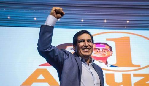 Arce felicita a Arauz por su victoria y al pueblo ecuatoriano por su participación en las urnas