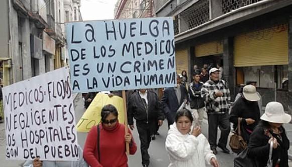 Año 2020 la Salud vulnerada en Bolivia